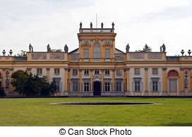 Pictures of Wilanow.