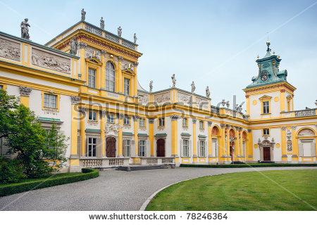 Wilanow Palace Stock Photos, Royalty.