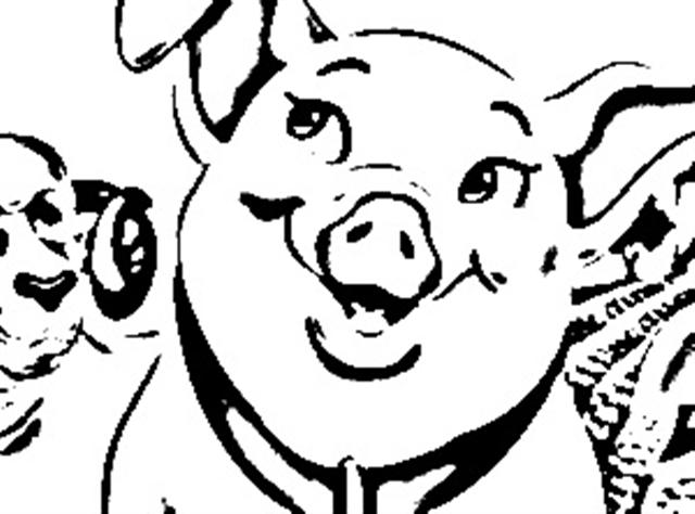 Wilbur The Pig Clipart.