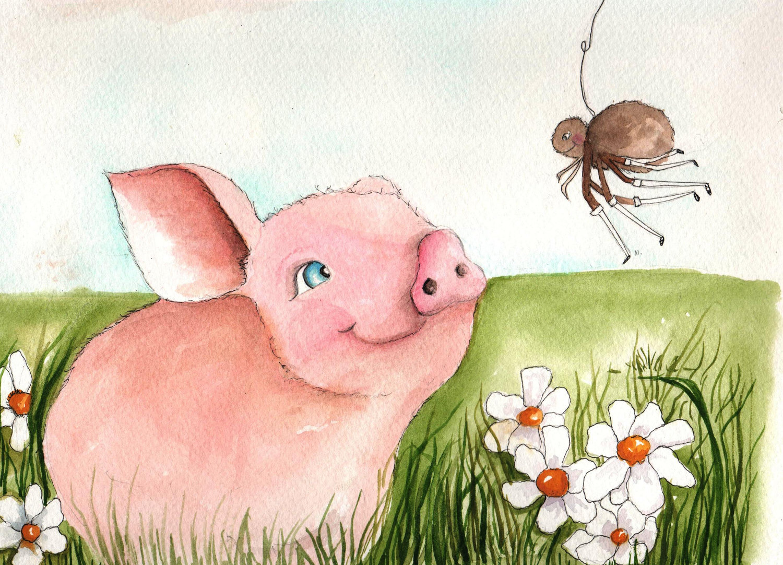 Wilbur The Pig Clipart.