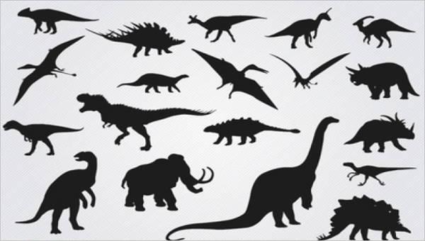 9+ Wild Dinosaur Silhouettes.