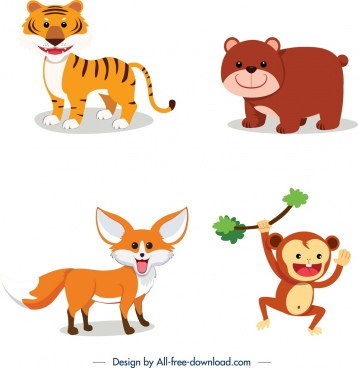 Wild animal clip art free vector download (220,737 Free vector) for.