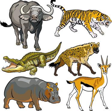 Wild animal clip art free vector download (210,590 Free vector.