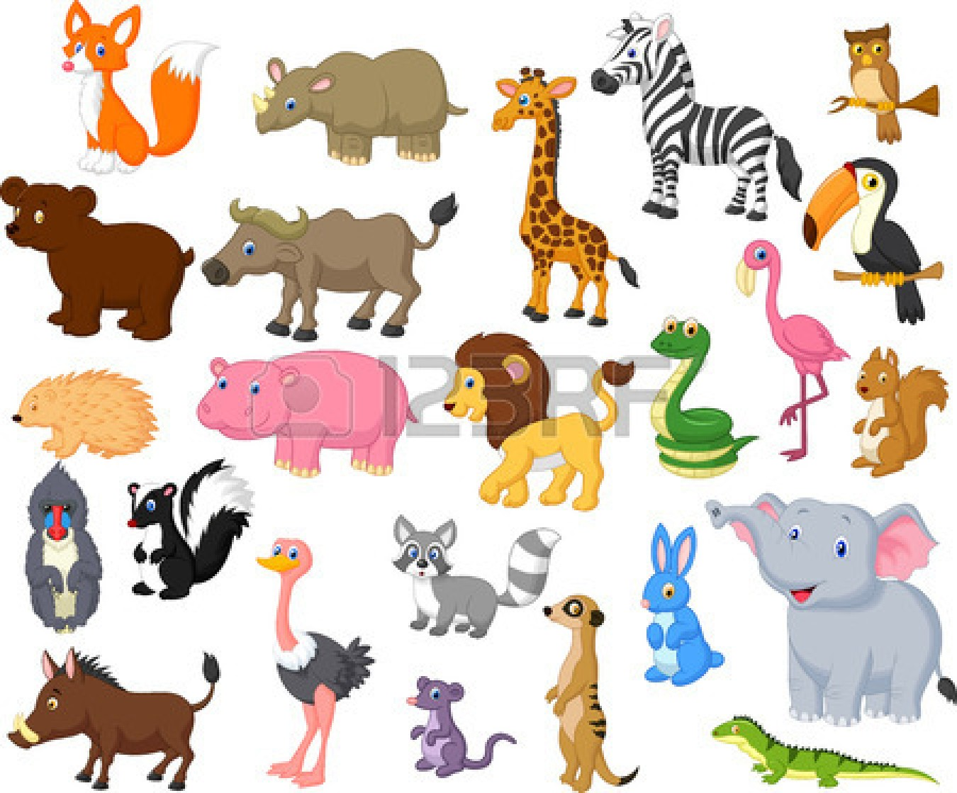 Wild animal clipart #18