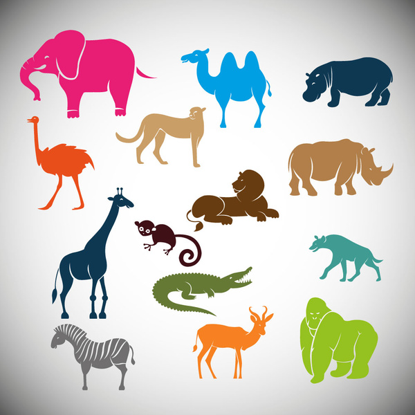 Wild animal clip art free vector download (210,590 Free vector.