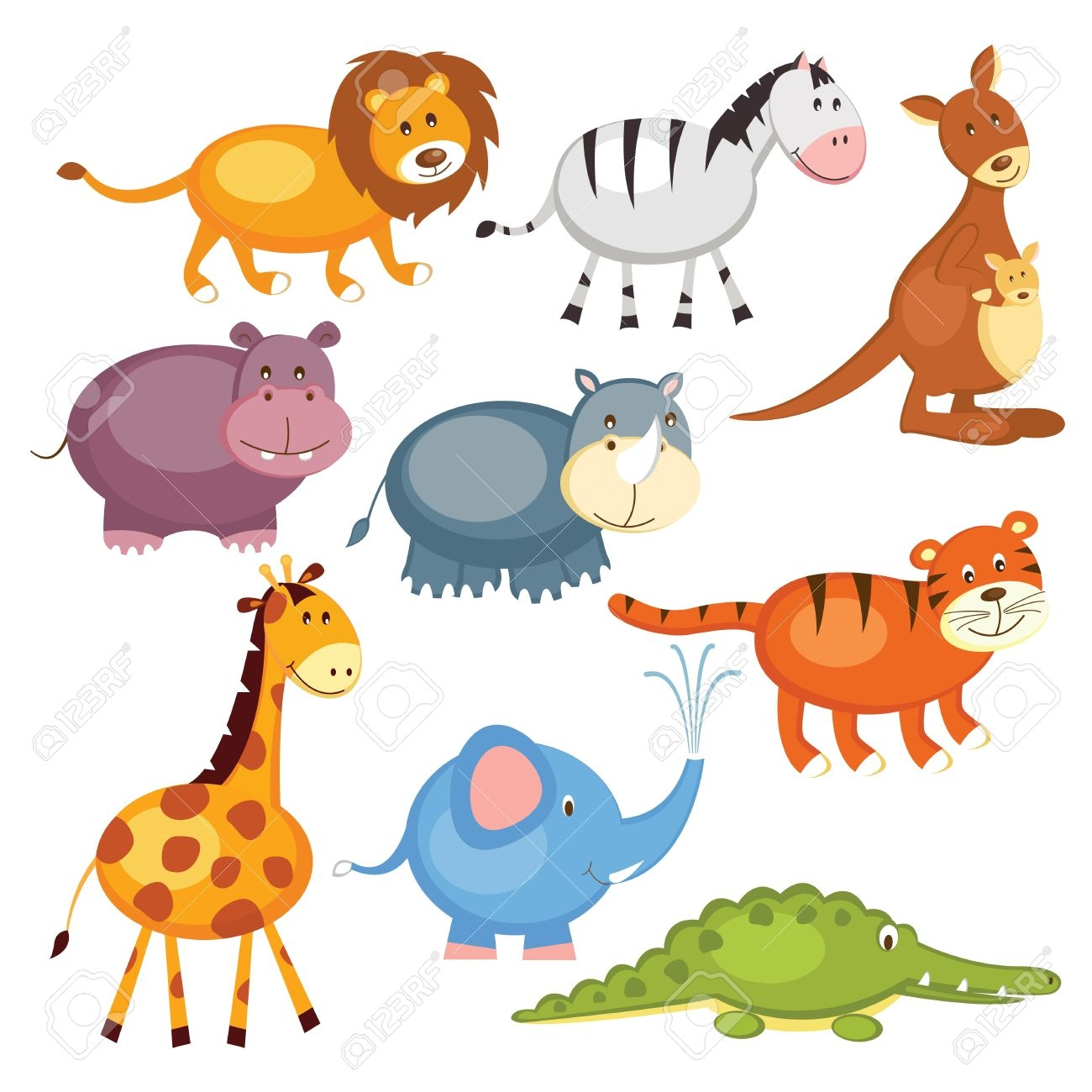 animals clipart for kids-#9
