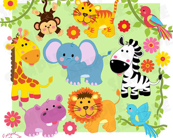 wild animal clip art.