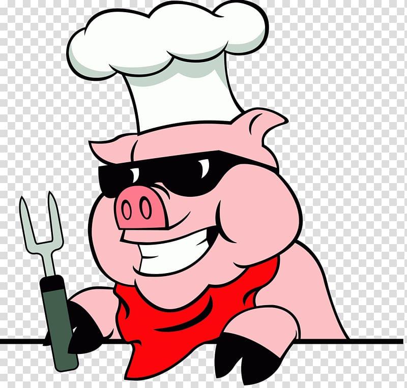 Pig Roast transparent background PNG cliparts free download.