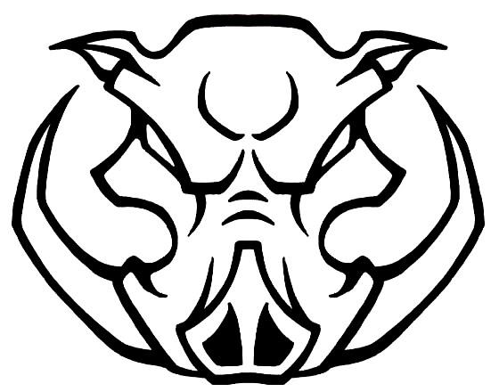 Wild Boar Head Clipart.