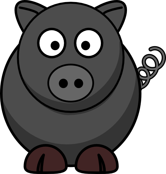 Wild boar head clipart transparent.