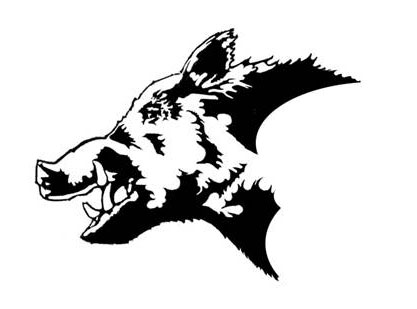 wild boar hunting clipart clipground