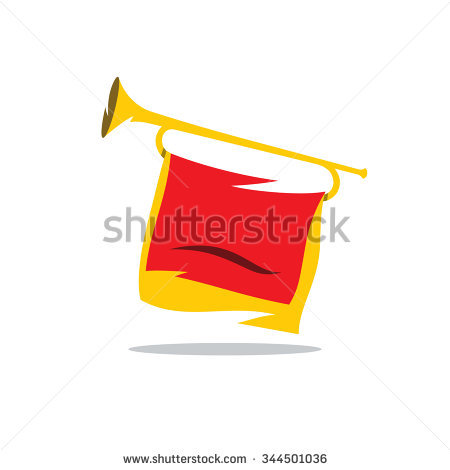 Bugle Stock Images, Royalty.