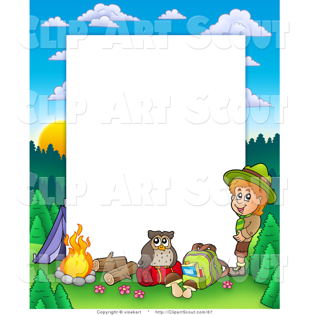 Wild Camping Clipart
