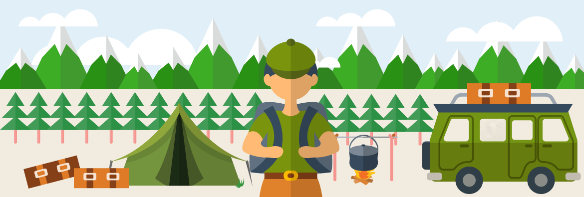 Wild Camping Guide.