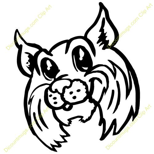 Wild cat clip art.