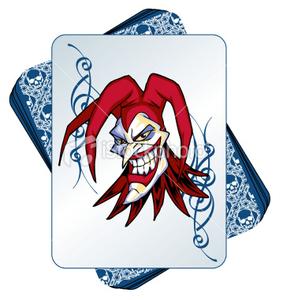 Istockphoto Wild Joker In A Deck Of Cards.