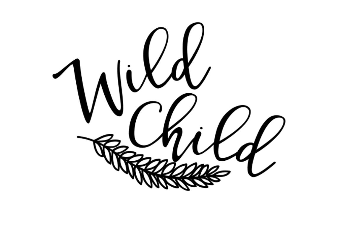 Wild Child Clipart.