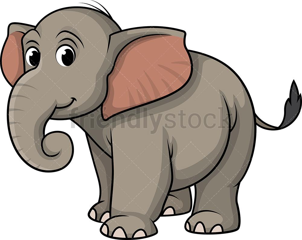 Cute Wild Elephant.