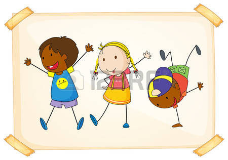 Children Playing Clipart Stock Photos & Pictures. Royalty Free.