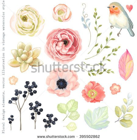 Flower Stock Photos, Royalty.