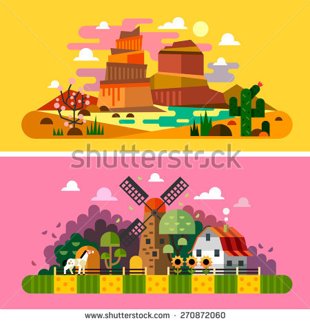 Western Landscape Stock Photos, Royalty.