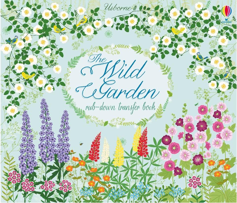"""The wild garden"""" at Usborne Children's Books."""