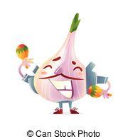 Wild garlic Clipart Vector Graphics. 20 Wild garlic EPS clip art.