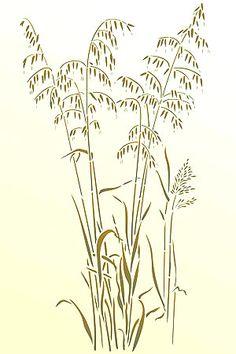 Wild Grass Clip Art.