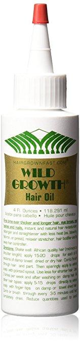 Amazon.com : Wild Growth Hair Oil 4 Oz : Hair Regrowth Treatments.
