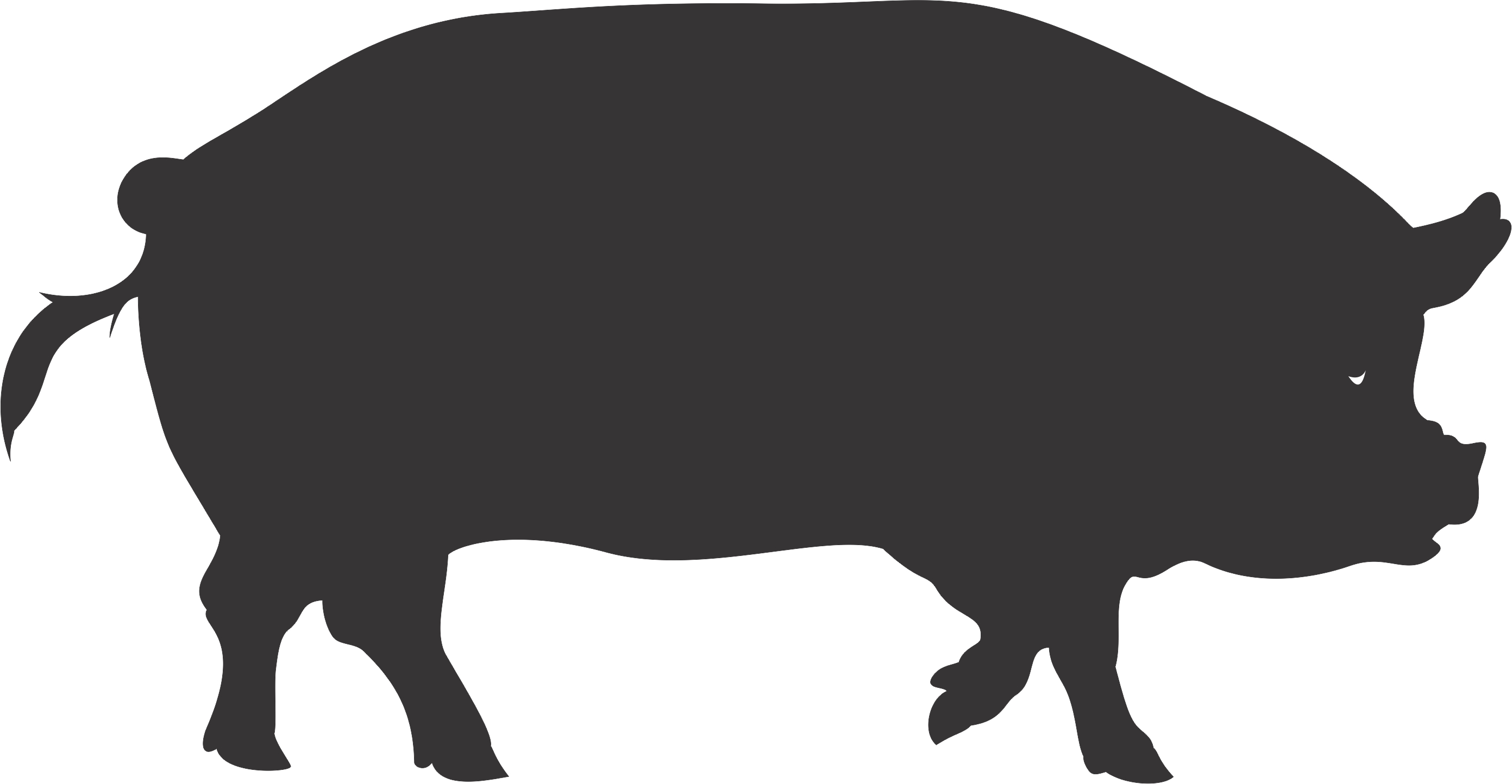 Free Wild Hog Silhouette, Download Free Clip Art, Free Clip.