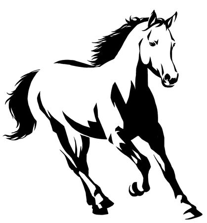 28,058 Wild Horses Stock Vector Illustration And Royalty Free Wild.