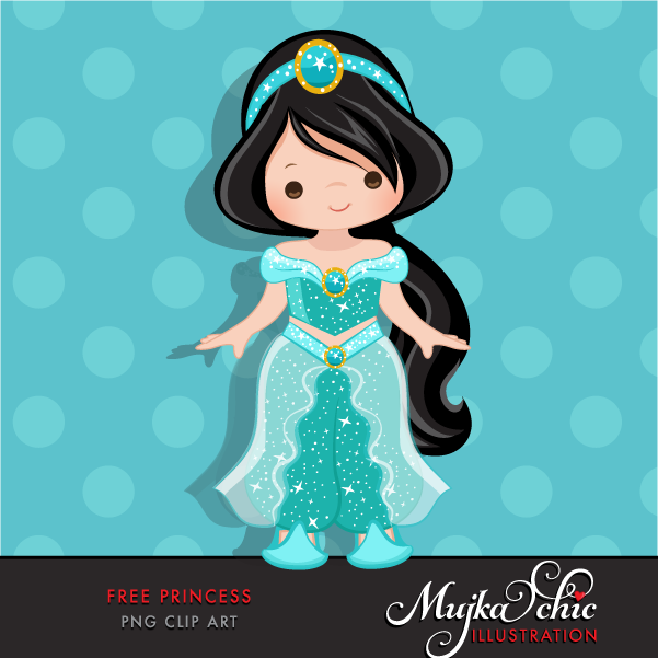 Free Princess Clipart.