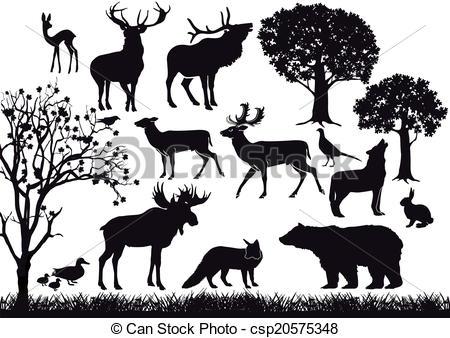 Wildlife Clipart Vector Graphics. 122,509 Wildlife EPS clip art.