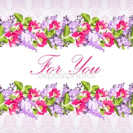 Wild lilac flowers Stock Vectors, Royalty Free Wild lilac flowers.
