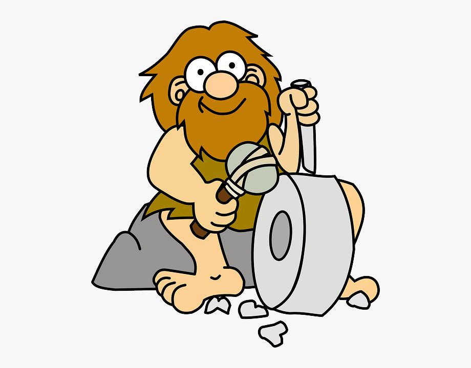 Caveman clipart wild man, Caveman wild man Transparent FREE.