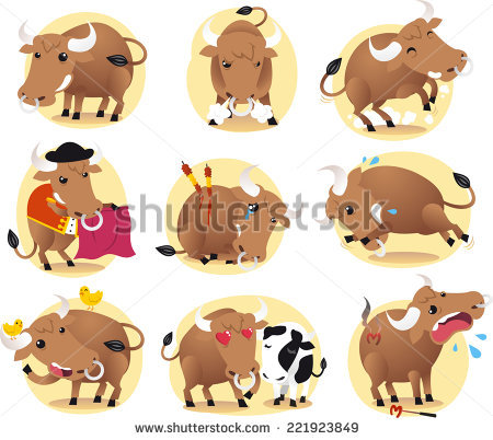 Running Of The Bulls Stock Photos, Royalty.