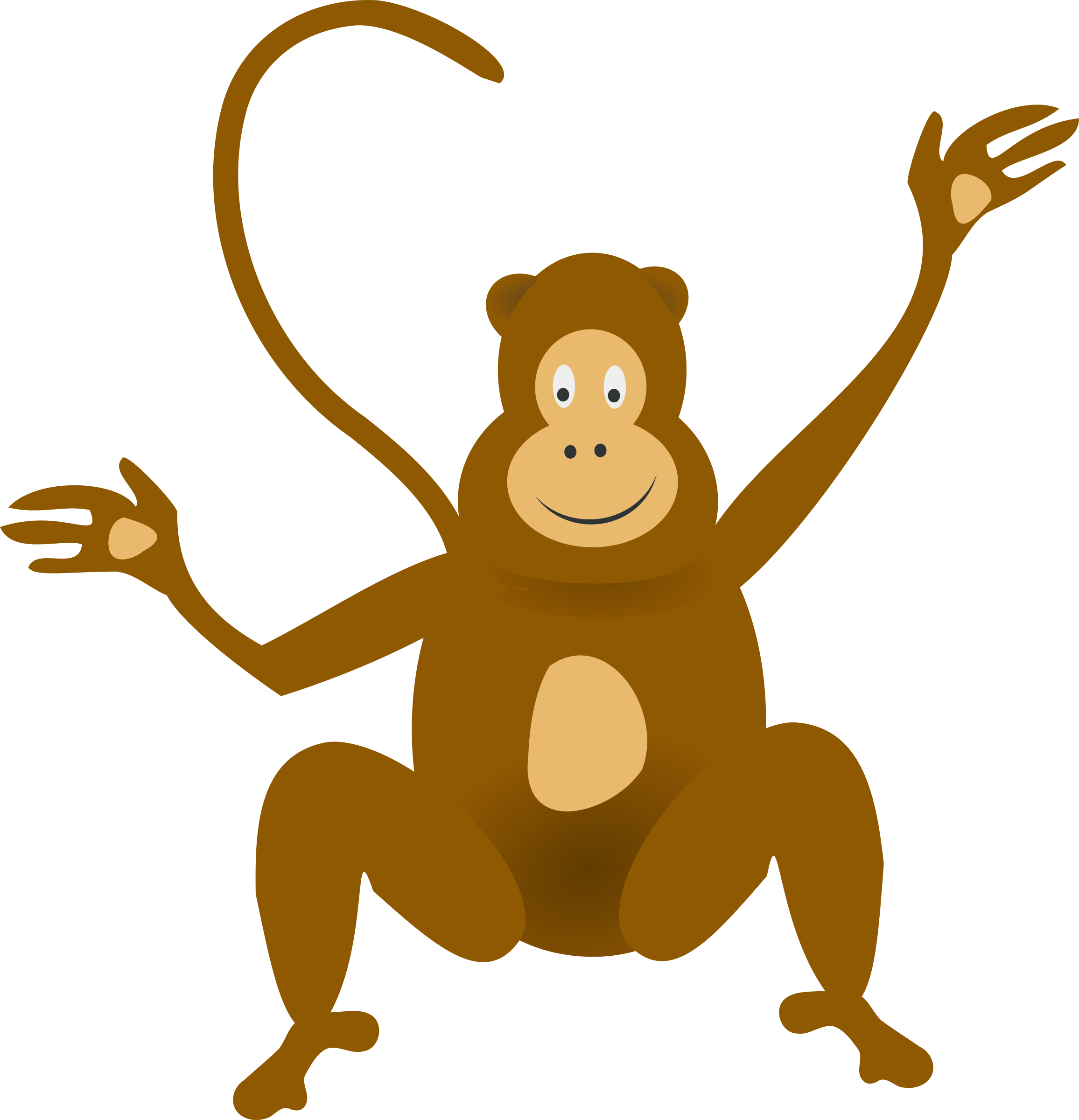 Monkeys clipart colour, Monkeys colour Transparent FREE for.