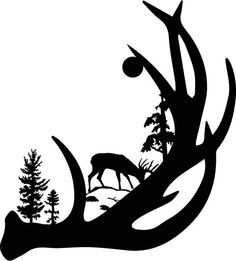 wildlife clip art silhouettes.