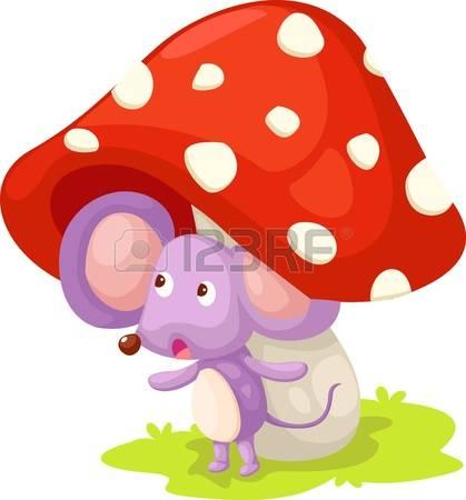 Wild mushrooms clipart #4