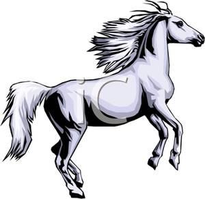 Clipart wild horses.