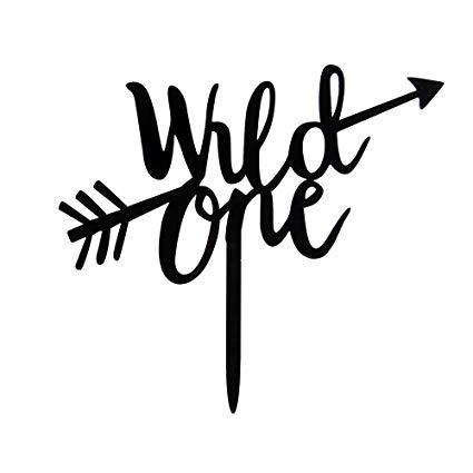 Wild One With Arrow Cake Topper.