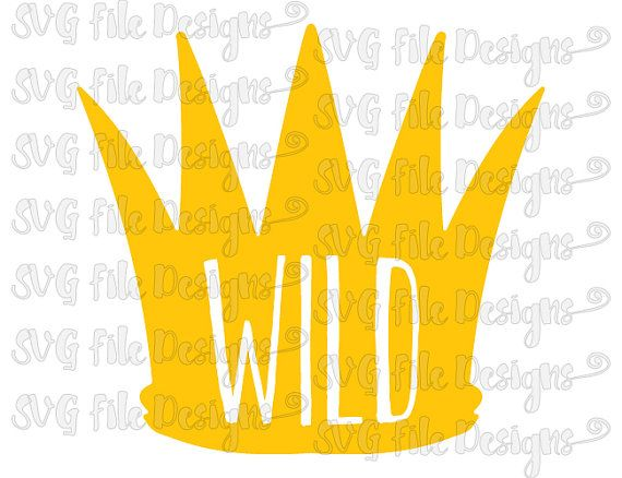 Where The Wild Things Are Crown Baby Onesie or by.
