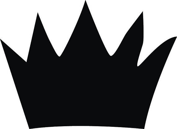 Where The Wild Things Are Crown Silhouette.