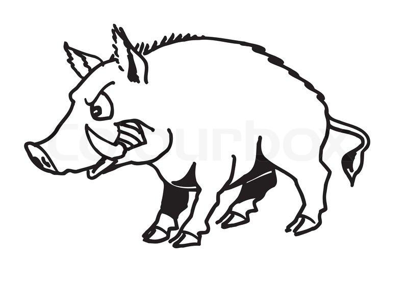 Wild Pig Clip Art Clipart, Hog Free Clipart.