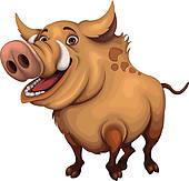 Wild Hog Clipart.