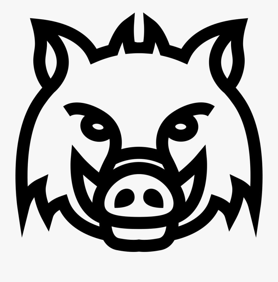 Snout,suidae,boar,clip Art,black And White,stencil.