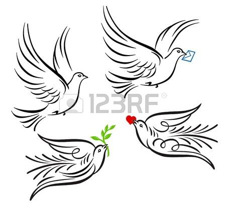 10,322 Pigeon Stock Vector Illustration And Royalty Free Pigeon.