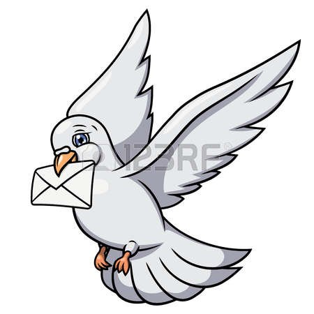 146 Carrier Pigeon Stock Vector Illustration And Royalty Free.
