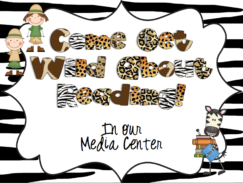 The Book Bug: New Get Wild About Reading Theme.
