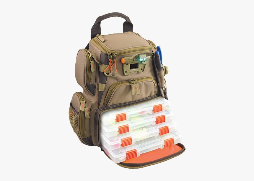Wild River Fishing Backpack, HD Png Download.